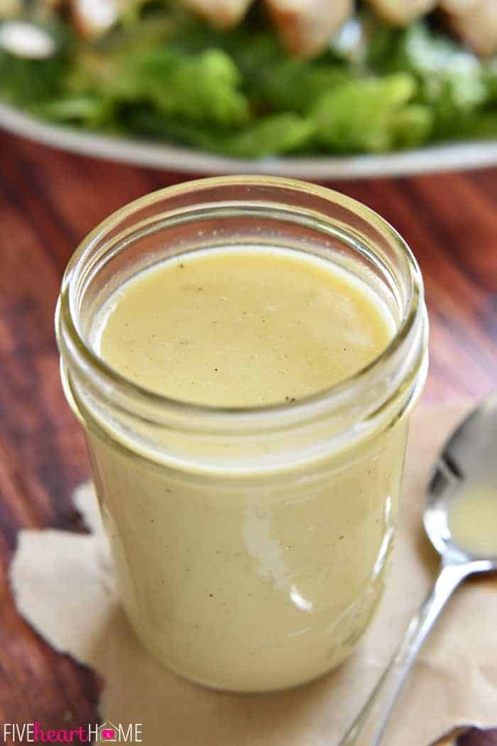 But enough about that. Who likes Honey Mustard Salad Dressing? It was ...