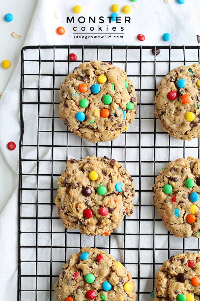 Monster Cookies   LoveGrowsWild.com