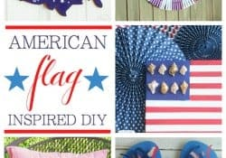 American Flag-Inspired DIY Projects | Moonlight & Mason Jars Link Party