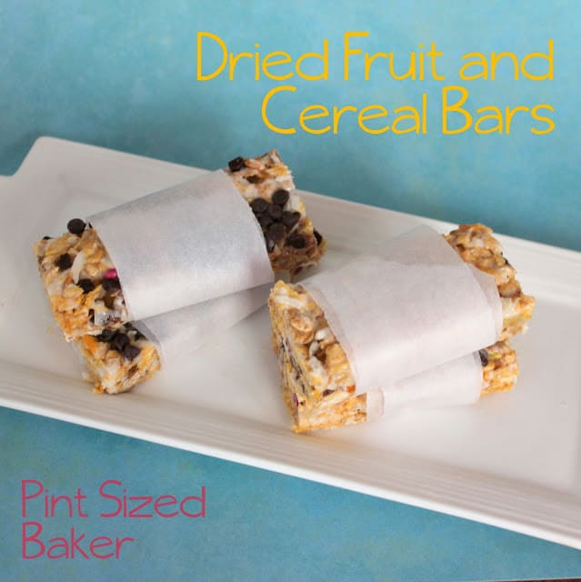 Dried Fruit & Cereal Bars