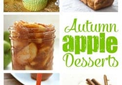 Autumn Apple Desserts | Moonlight & Mason Jars Link Party #121