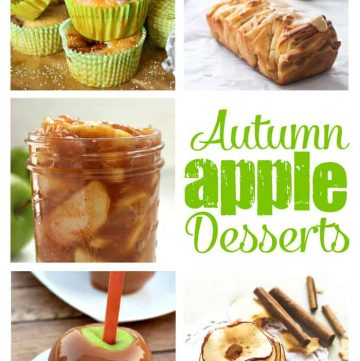 Autumn Apple Desserts | Moonlight & Mason Jars Link Party #121