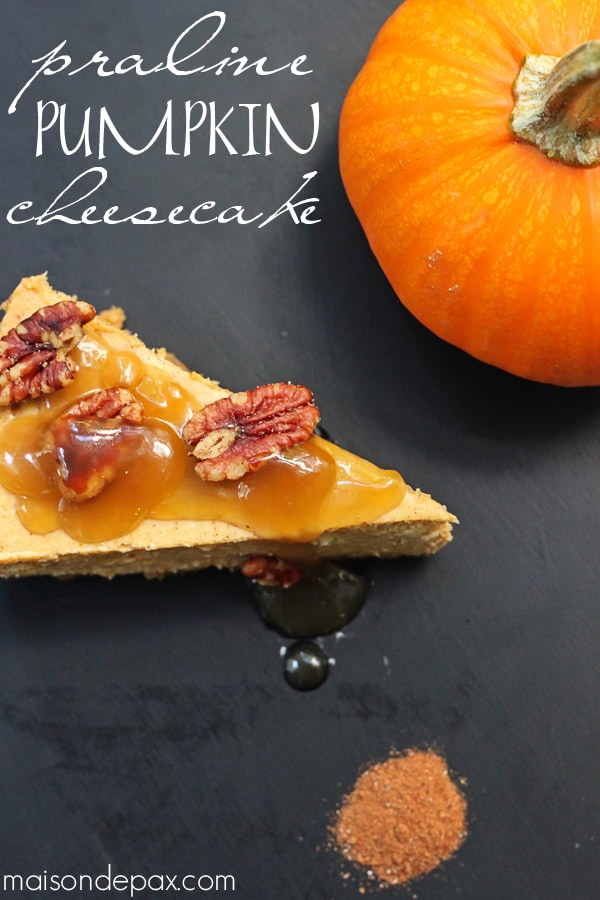 Pumpkin Praline Cheesecake Recipe — Dishmaps