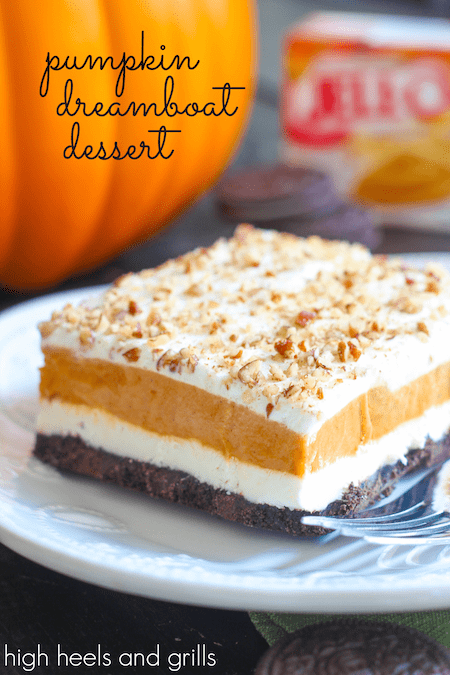 Pumpkin Dreamboat Dessert