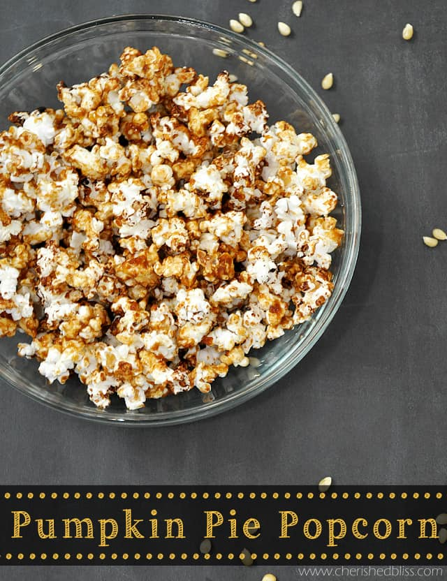Pumpkin Pie Popcorn