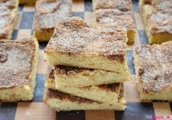 Chewy Snickerdoodle Bars