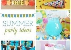 Summer Party Ideas | Moonlight & Mason Jars Link Party