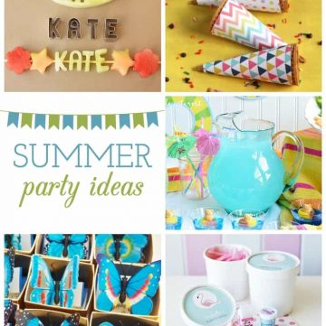 Summer Party Ideas {M&MJ Link Party #118}