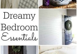 Dreamy Bedroom Essentials {M&MJ Link Party #119}