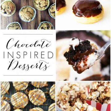 Chocolate Inspired Desserts | Moonlight & Mason Jars Link Party