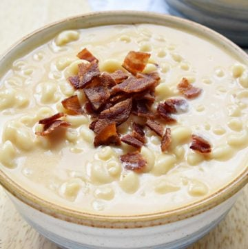 Macaroni & Cheese Soup