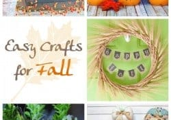 Easy Crafts for Fall {M&MJ Link Party #123}