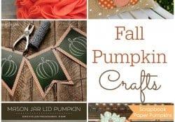 Fall Pumpkin Crafts {M&MJ Link Party #124}