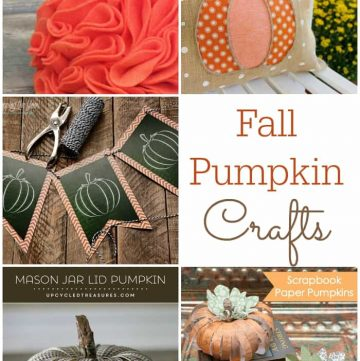 Fall Pumpkin Crafts {M&MJ Link Party #124}
