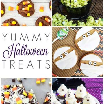 Yummy Halloween Treats | Moonlight & Mason Jars Link Party