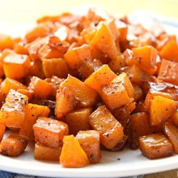 Cinnamon Maple Roasted Squash