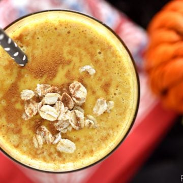 Pumpkin Pie Smoothies {Healthy Oat Smoothies}