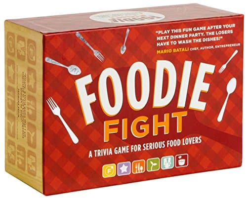 Foodie Fight Trivia Game | 2015 Holiday Gift Guide for Foodies @ FiveHeartHome.com