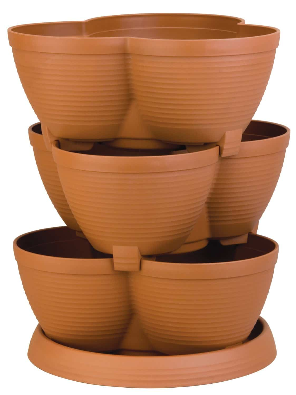 Tiered Herb Pot | 2015 Holiday Gift Guide for Foodies @ FiveHeartHome.com
