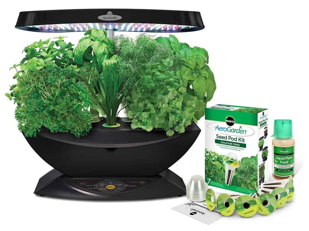 AeroGarden Indoor Herb Garden | 2015 Holiday Gift Guide for Foodies @ FiveHeartHome.com
