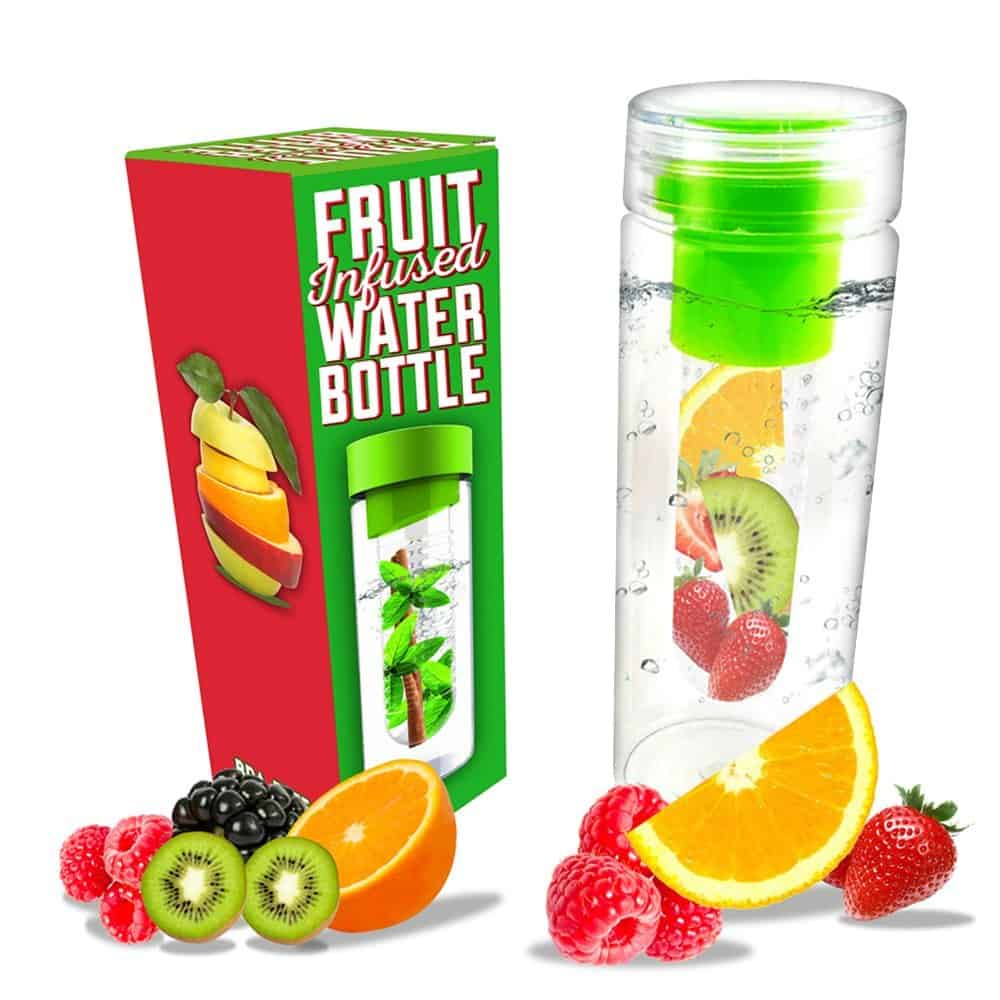 Fruit Infuser Water Bottle | 2015 Holiday Gift Guide for Foodies @ FiveHeartHome.com