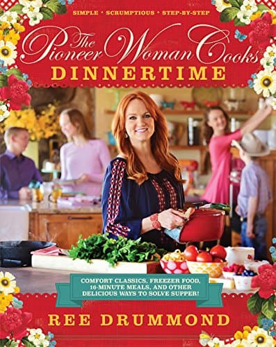 The Pioneer Woman Cooks: Dinnertime Cookbook | 2015 Holiday Gift Guide for Foodies @ FiveHeartHome.com