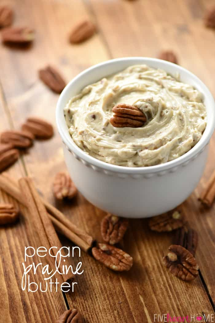 Pecan Praline Butter with Text Overlay