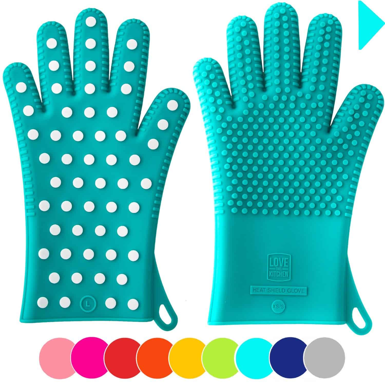 Silicone Oven Mitts | 2015 Holiday Gift Guide for Foodies @ FiveHeartHome.com