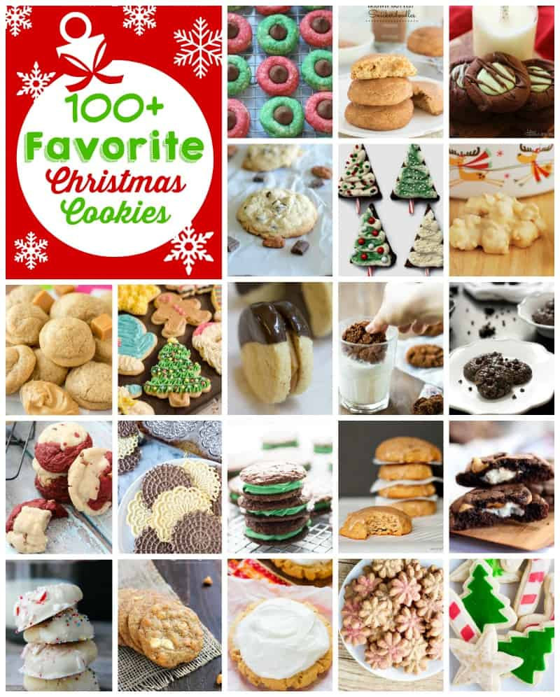 Christmas Cookies Blog Hop ~ 100+ tried-and-true holiday cookie recipes from your favorite food bloggers! | FiveHeartHome.com