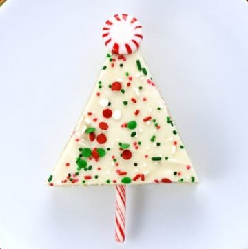 Christmas Tree Sheet Cake Pops
