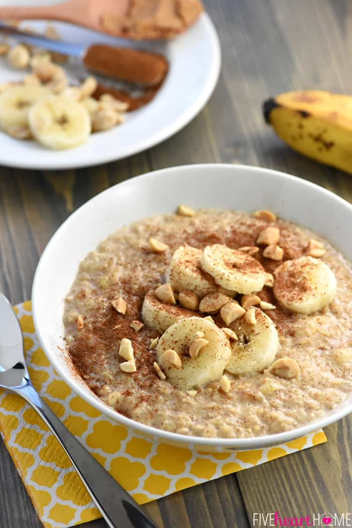 Quick peanut butter banana oatmeal peanut butter banana oatmeal in just a few short minutes you can enjoy a ccuart Choice Image