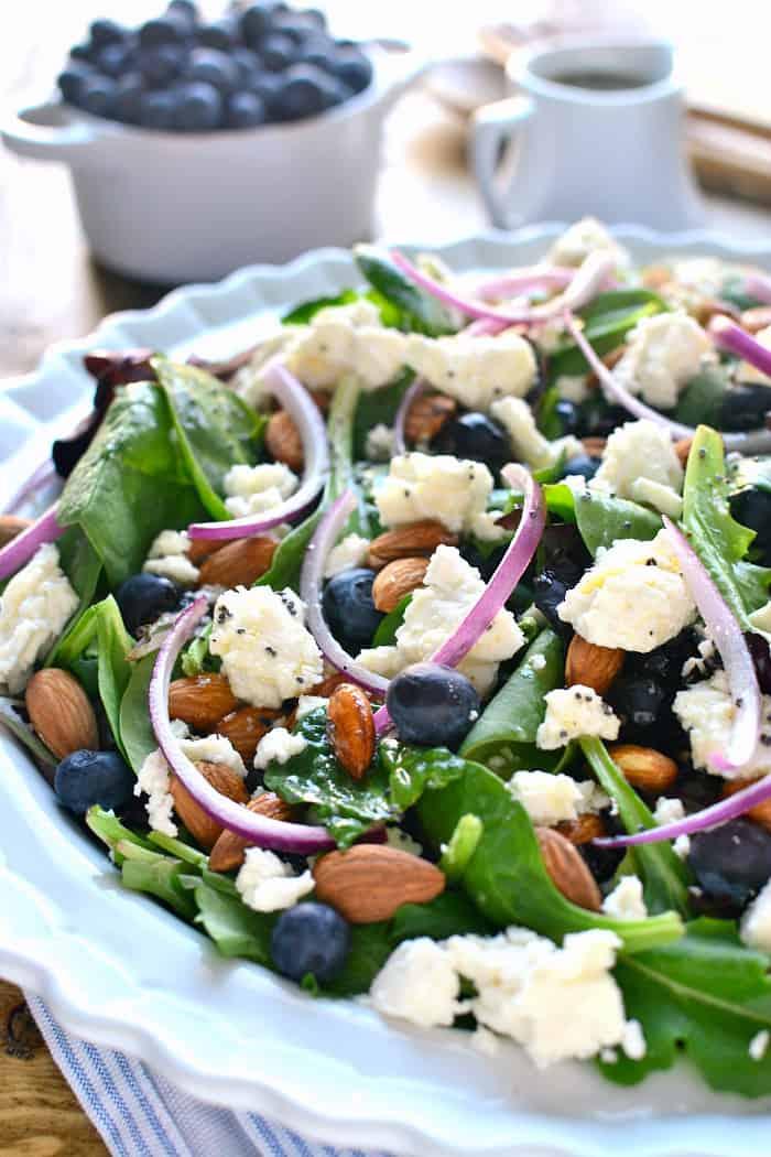 Blueberry Feta Salad