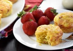 Bacon, Potato, & Cheese Mini Frittatas (Egg Muffins)