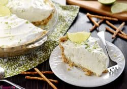 No-Bake Frozen Margarita Pie