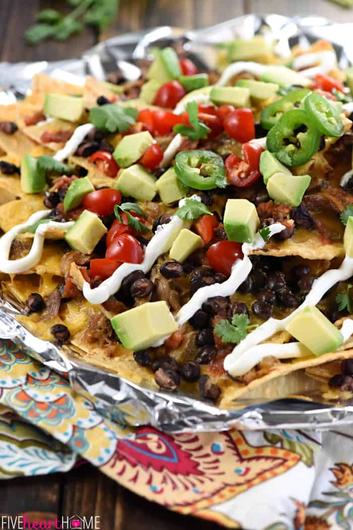 Piled High on a Bed of Chips for Nachos