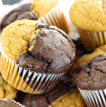 Pumpkin Bread & Chocolate Muffins
