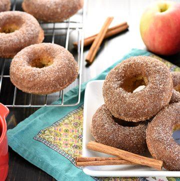 Apple Cider Baked Donuts