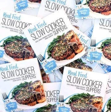 'Real Food Slow Cooker Suppers' Cookbook ~ IT'S FINALLY HERE!!!