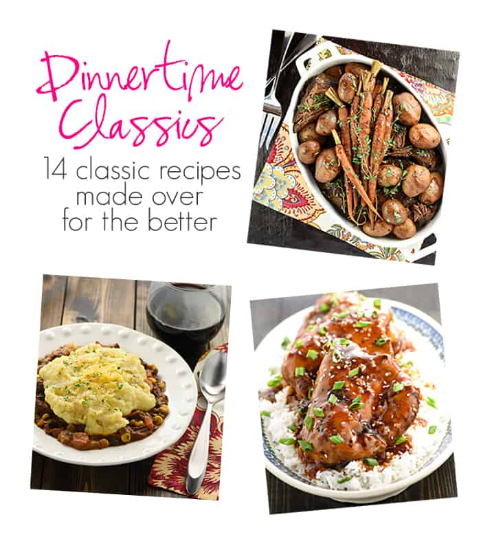 Real Food Slow Cooker Suppers Cookbook: Dinnertime Classics ~ 14 classic recipes made over for the better | FiveHeartHome.com