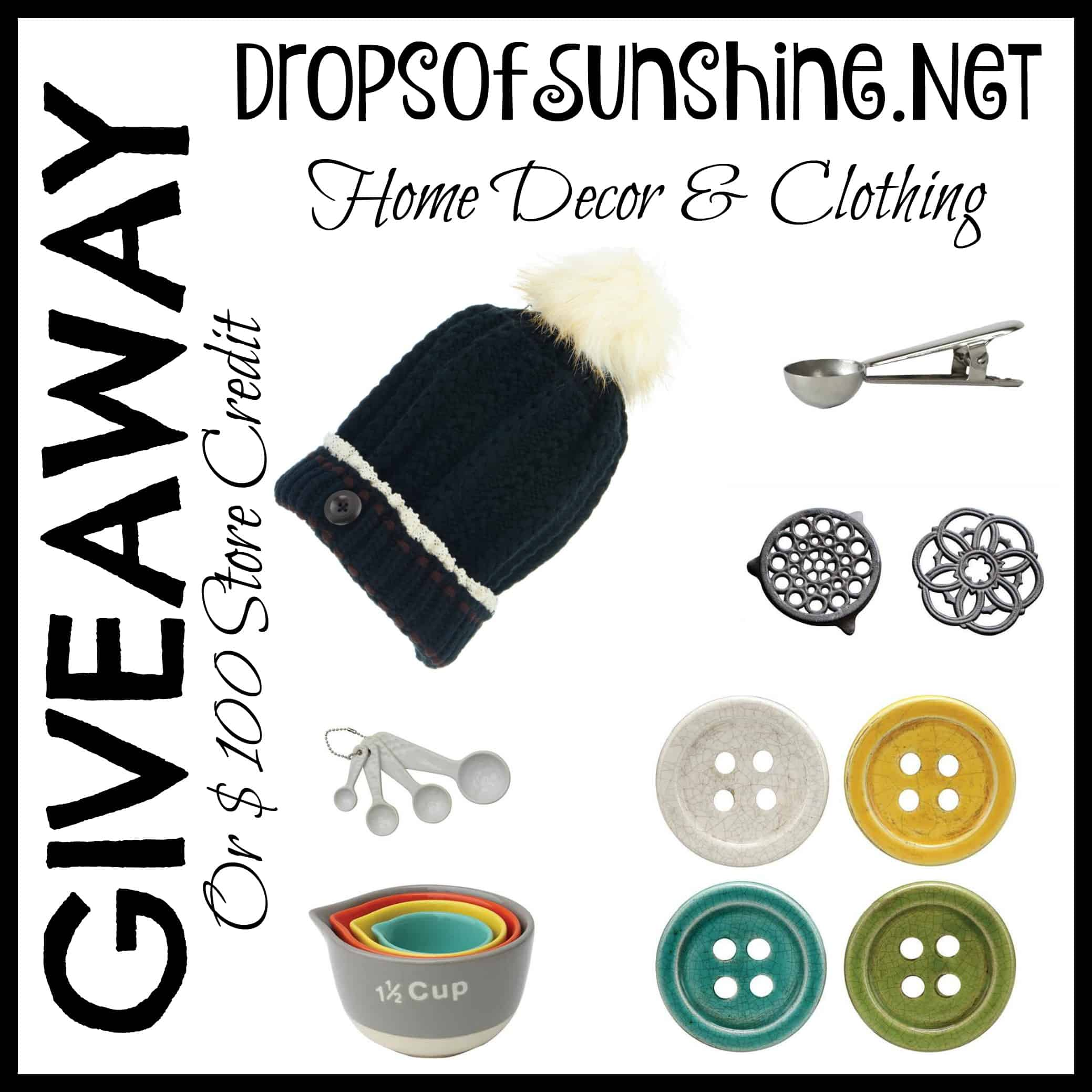 Drops of Sunshine Giveaway