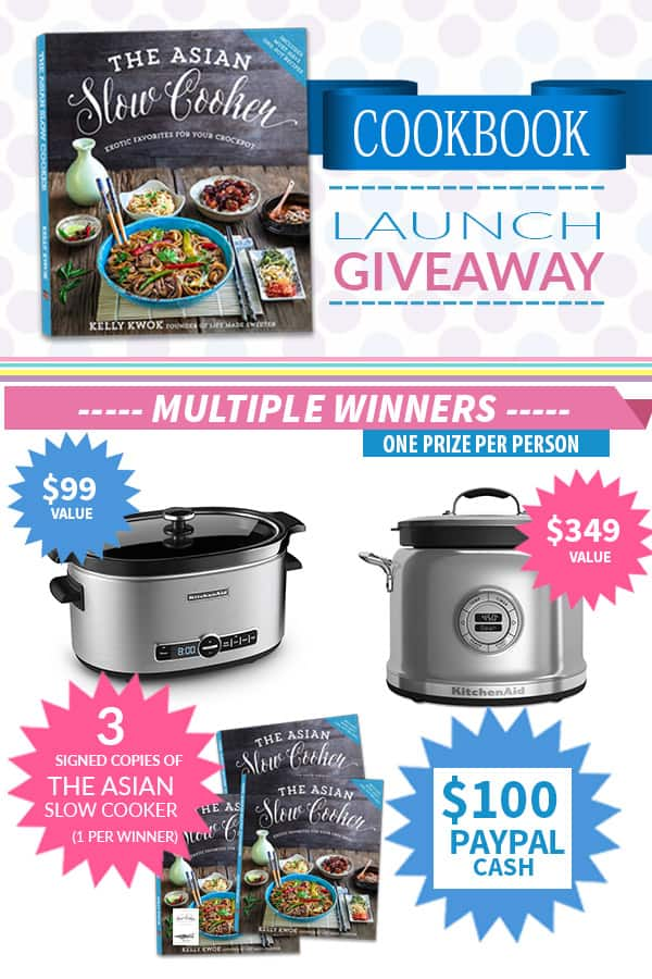 The Asian Slow Cooker GIVEAWAY