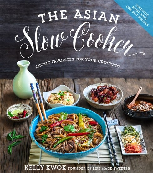 The Asian Slow Cooker cookbook, by Kelly Kwok