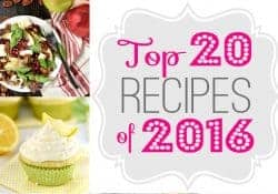 Five Heart Home's Top 20 Recipes of 2016