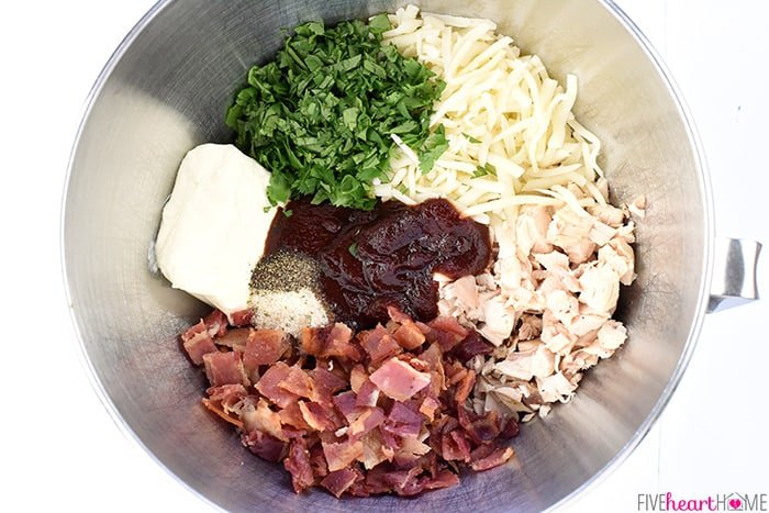 All Ingredients in a Bowl