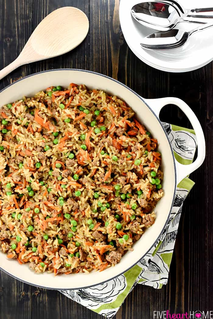 Asian Beef Rice Skillet A Quick And Easy Dinner Recipe Requiring Simple List