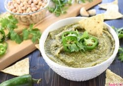 White Bean Dip with Jalapeño & Cilantro
