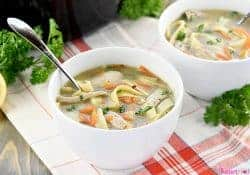Quick & Easy Homemade Chicken Noodle Soup