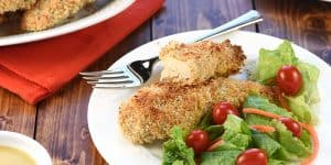 Crunchy Baked Chicken Tenders