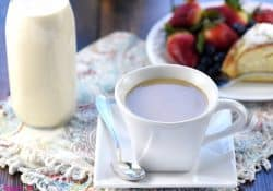 Homemade Caramel Brulée Coffee Creamer
