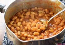 Quick Stovetop Baked Beans